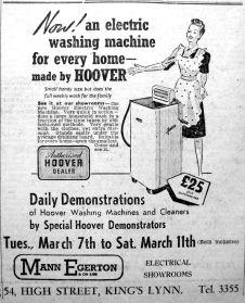 1950 Mar 10th Mann Egerton Electrical