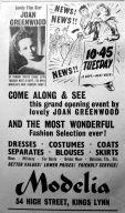 1953 Sept 4th Modelia opens