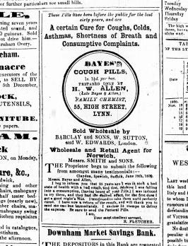 1860 Nov 24th HW Allen @ No 55