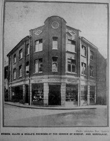 1930 Nov 14th Allen & Neales after rebuilding