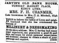 1896 April 11 ex Mrs C A Mitchell @ No 56