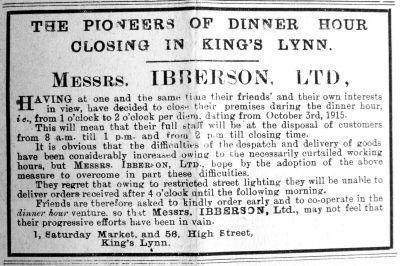 1915 Oct 1st Ibberson