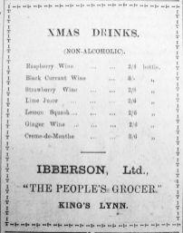 1918 Dec 20th Ibbersons