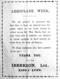 1918 Mar 15th Ibberson
