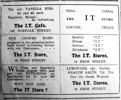1923 July 20th IT Stores