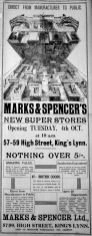 1932 Sept 30th Marks & Spencer extension opens