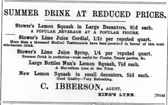 1897 July 9th C Ibberson @ No 57