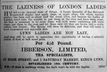 1901 Mar 15th Ibberson