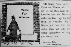 1907 Jan 11th Ibberson Votes for Women