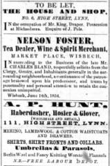 1854 July 22nd Mr King ex No 6