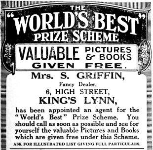 1913 June 13th Mrs S Griffin crop
