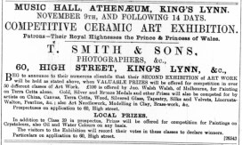 1887 Sept 10th T Smith & Sons @ No 60