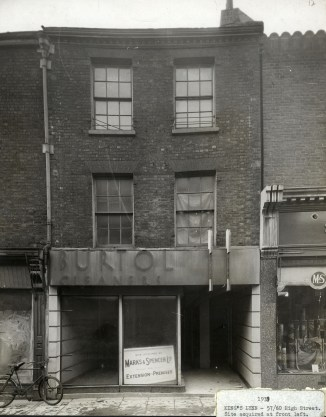 1938 No 60 Burtol Cleaners acquired (M & S Archives)