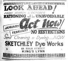 1944 Feb 11th Sketchley Dye Works