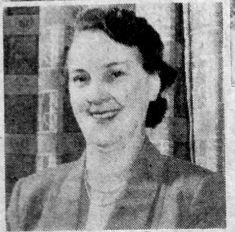 1958 Jan 7th Miss Boldero Sketchleys manageress