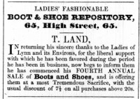 1842 April 12th T Land @ 65