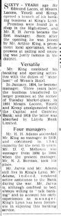 1949 June 10th Lacon & Youells Bank 60 yrs ago No 65
