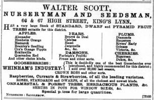 1896 Dec 4th Walter Scott @ Nos 66 & 67