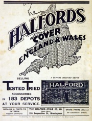 1930 June Halfords ad