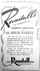 1951 July 20th Randalls opening