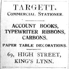 1926 Feb 26th Targett