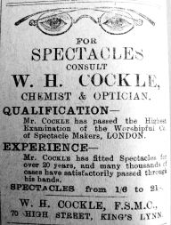 1911 Feb 10th Cockle