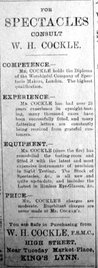 1913 Oct 24th Cockle
