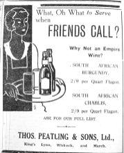 1933 July 7th Thos Peatling