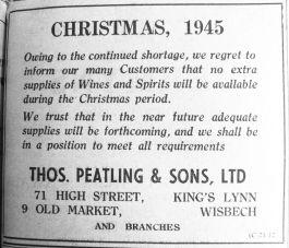 1945 Dec 14th Thos Peatling