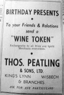 1952 Jan 29th Peatlings