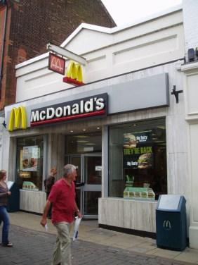 2007 McDonalds at No 71