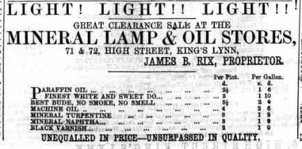 1867 April 27th James B Rix @ No 71 & 72