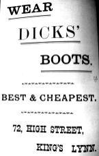 1904 Sconces Almanack Dicks