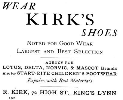1924 Kirks @ 72 a