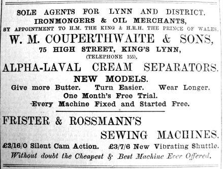 1910 April 18th Couperthwaite