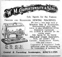 1924 Sept 26th Couperthwaite