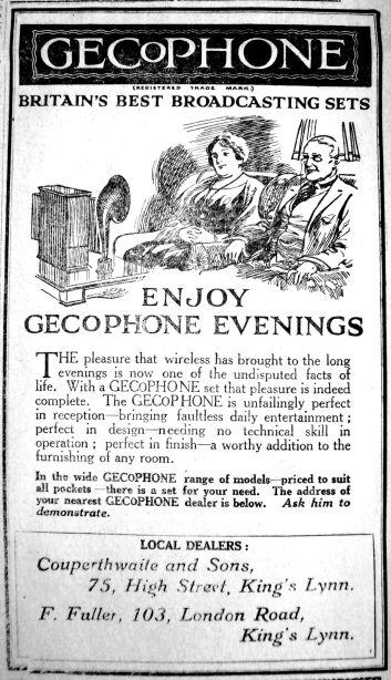 1925 Nov 6th Couperthwaite GeCoPhone