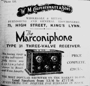 1926 Nov 26th Couperthwaite