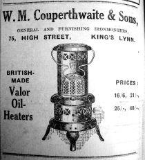 1927 Nov 25th W M Couperthwaite