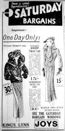 1935 Sept 20th Joys first ad