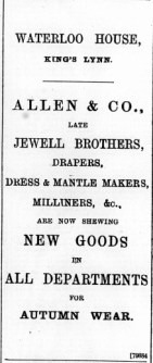 1897 Sept 17th Allen & Co @ 76 & 77