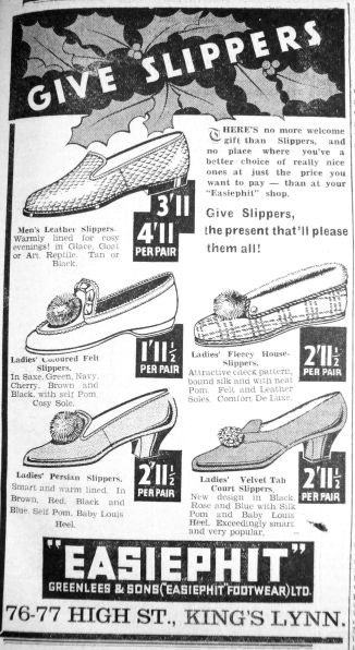 1936 Dec 11th Easiphit Footwear