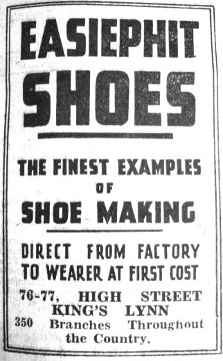 1941 June 6th Easiphit Shoes