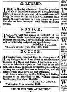 1866 Oct 13th Robert Fuller @ No 78