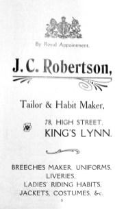 1907 Guide J C Robertson @ 78