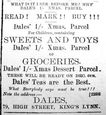 1890 Dec 13th Dales