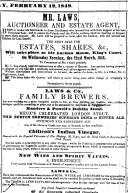 1848 Feb 12th Mr Laws