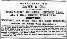 1896 Dec 18th Laws & Co @ No 8