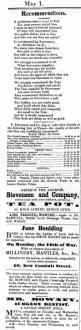 1858 May 1st Mr Rowney visiting @ No 80