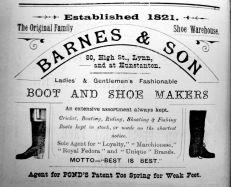 1904 Sconces Almanack Barnes & Son @ 80